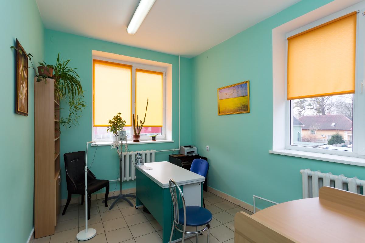 Фотография рабочего места психиатра на базе нашего центра